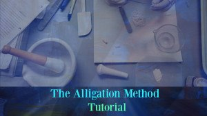 The Alligation Method