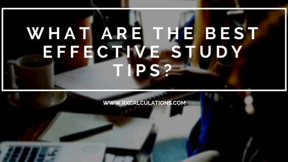what are the best effective study tips-