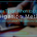 1 Super Tip on When to Use the Alligation Method to Solve Concentration Calculations Questions